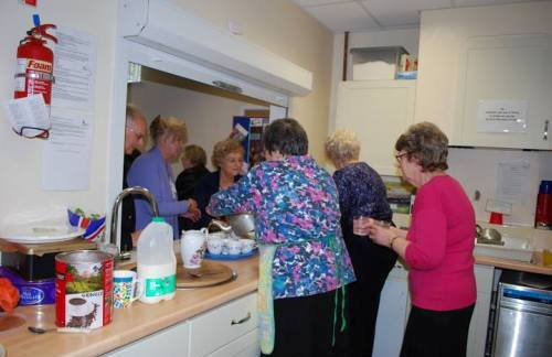 Brixham URC Kitchenette
